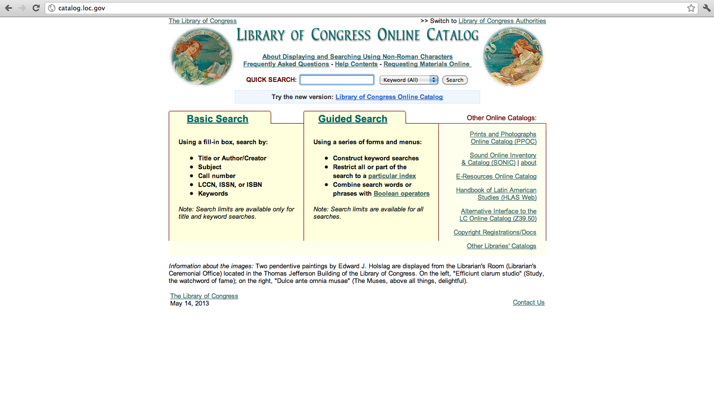 Library of Congress Digital Archive